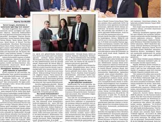 Balıkesir Yeni Haber Gazetesinde Dernek Yönetimimizle Röportaj yayınlandı