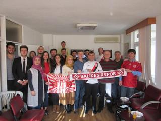 Adana Demirspor-Balıkesirspor Maçını Derneğimizde seyrettik