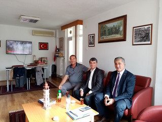 Savaştepe Belediye Başkanımız derneğimizi ziyaret etti