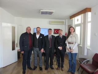 MHP Altıeylül İlçe Teşkilatının Ziyareti