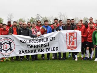 Balkes Ankara'da