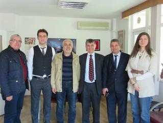 Balıkesir Gazeteciler Cemiyeti Derneğimizi Ziyaret Etti
