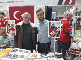 Ankara Kitap Fuarında yazarlarımız