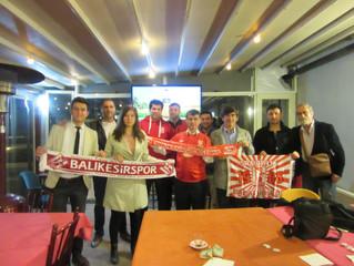 Samsunspor maçını beraber seyrettik...