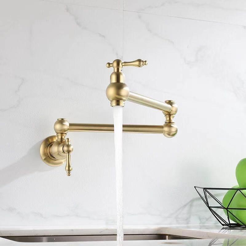 Brass Gold Vintage Pot Filler