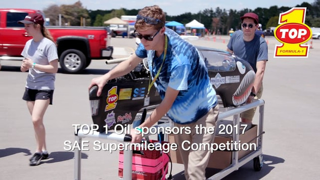 TOP 1 Oil SAE Supermilage 2017 — Students