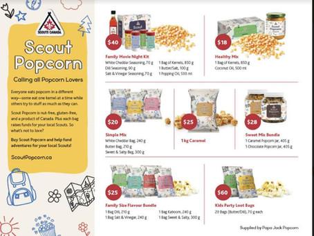 Scouts Popcorn