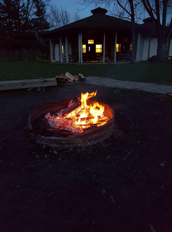 campfire at nemo