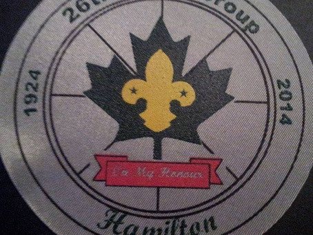 A Brief History of 26th Hamilton Scouting
