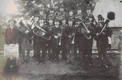 One of the first photo's of the band