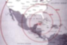 Mapa de la portada de los misiles nuclea