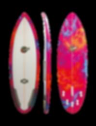 "CBS SURFBOARDS - MODEL KnockOut - ""K.O."""