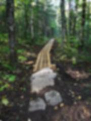 Trottoir de bois Sent de la Baie-2.JPG