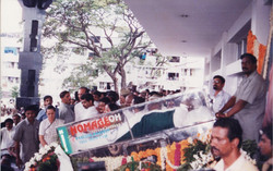 Our Dead Body Freezer Box used for veteran actor Late G. K. Moopanar Ayya