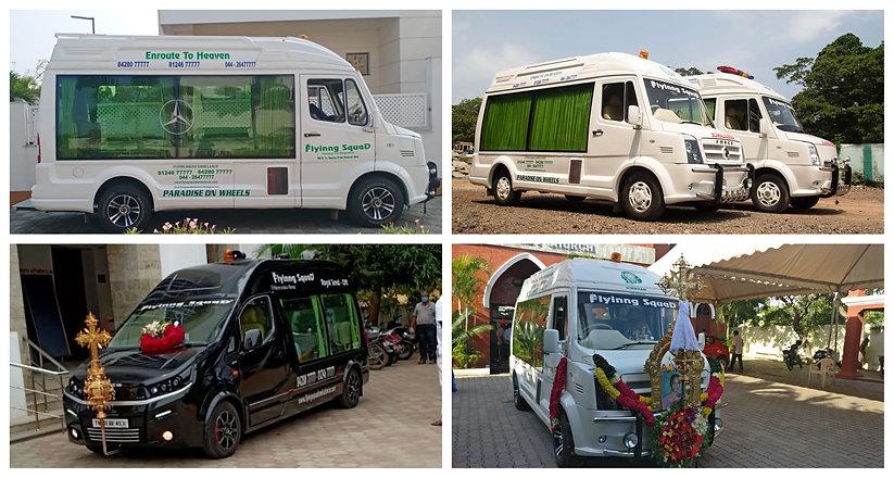 Hi-Tech Funeral Van