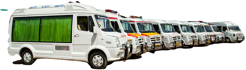 Fleet Of Ambulances In Chennai
