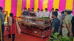 Our Dead Body Freezer Box used for S. P. Balasubrahmanyam Ayya