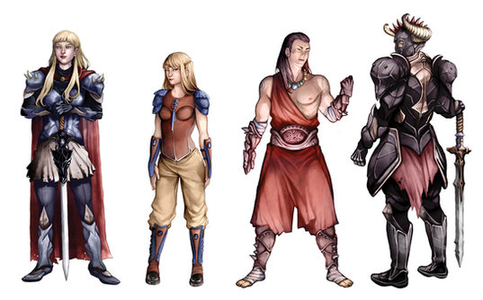 Personnages Divers