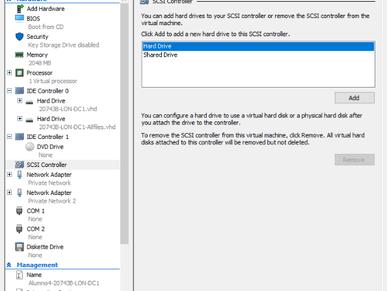 Despliegue de iSCSI Target Server en Windows Server 2016