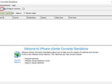 P2V. Convertir un Servidor físico con vCenter Converter Standalone 6.1.1
