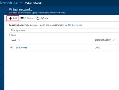 Replicar infraestructura On Premise (local) contra entorno Azure