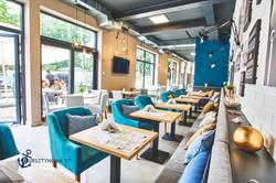 Projekt wnętrza - Restauracja