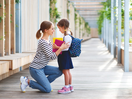 Strategies for your child's first day of School