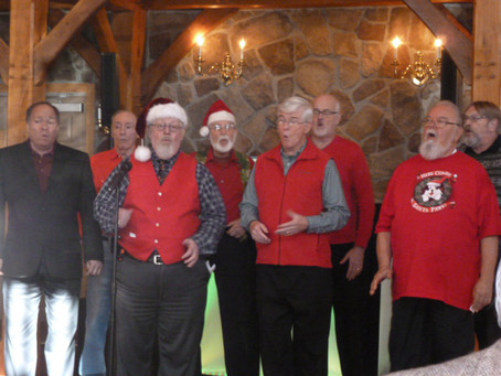 Garden Statesmen Entertain at the Plainsboro Sr. Holiday Lunch!