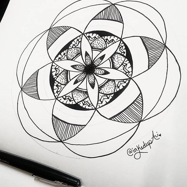 Latest piece ♨_·_·_#inkedupari #micronar