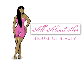 All About Her Logo