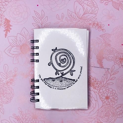 Planting Seeds Journal | Spiral Bound | Pocket Planner | Notebook