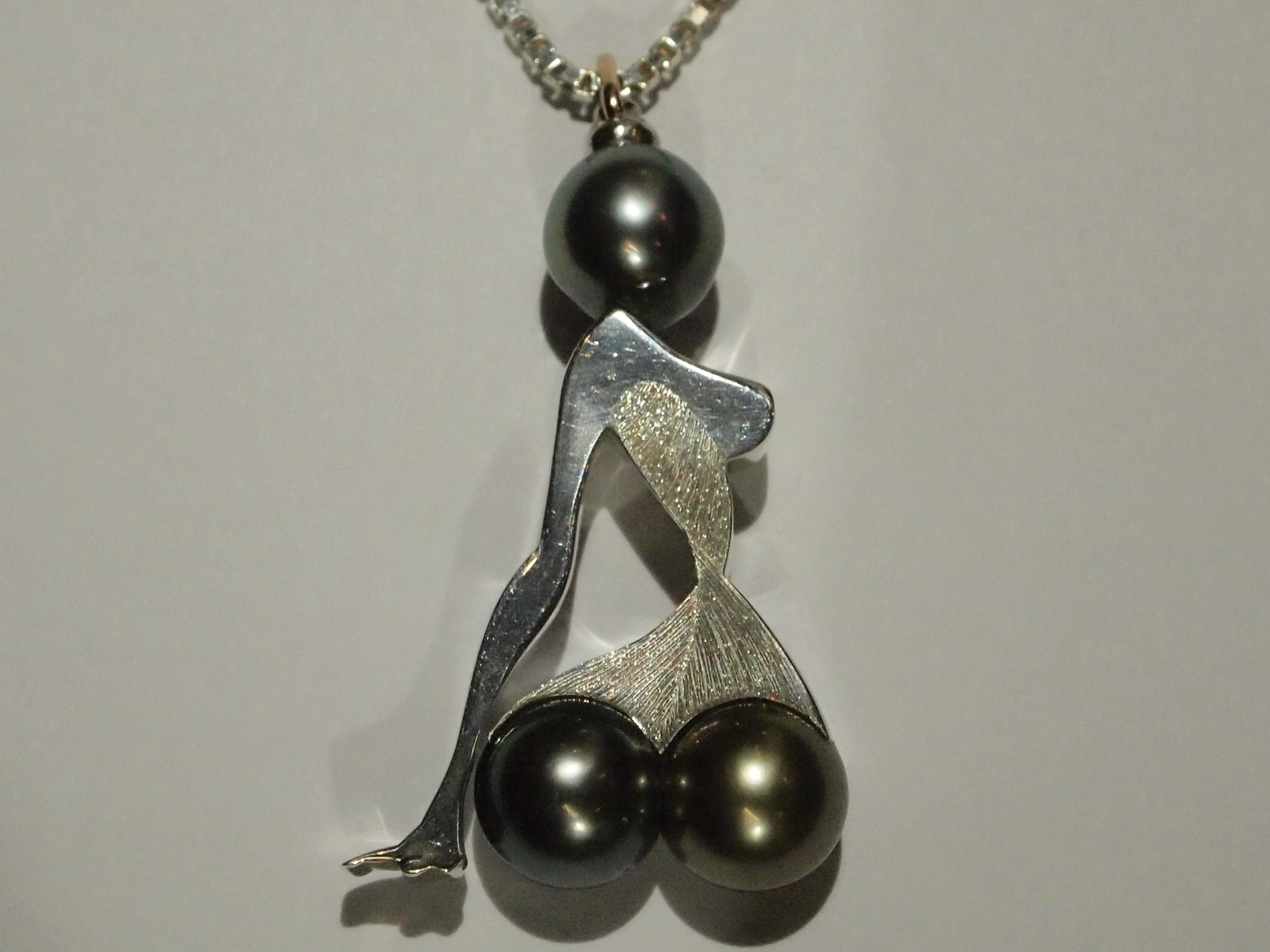 """Pendentif """"Twisted"""""""