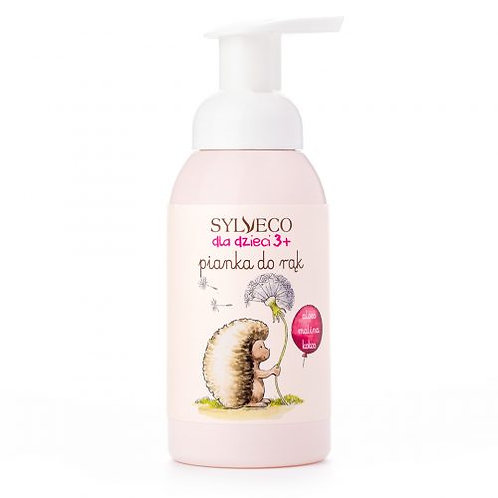 Pianka do mycia rąk zapach malinowy 3+ 290ml SYLVECO