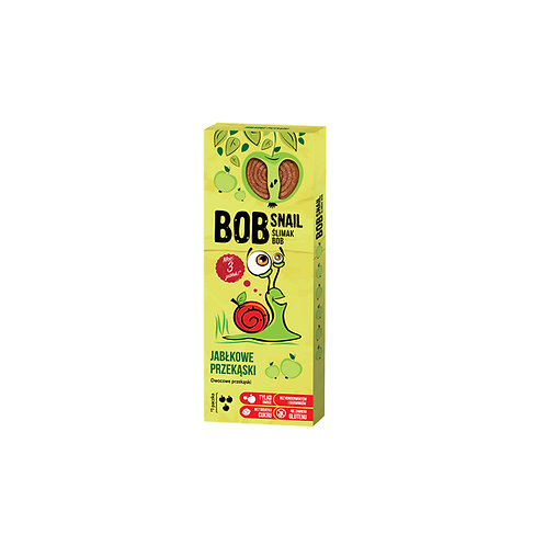 Bob snail przekąski jabłkowe 30g