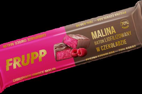Celiko FRUPP Baton liofilizowany MALINA W CZEKOLADZIE 20g