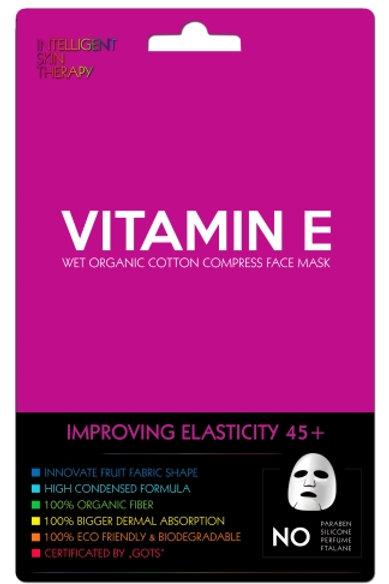Ekspresowa maseczka witamina e – poprawa elastyczności skóry 45+.
