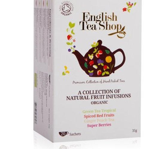 Zestaw Owocowych Herbat Organicznych - English Tea Shop