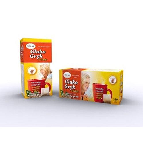 Gluko Gryk Max Utrzymanie właściwego poziomu cukru