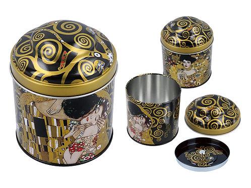 Puszka - G. Klimt. Pocałunek
