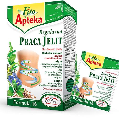Herbata Regularna Praca Jelit