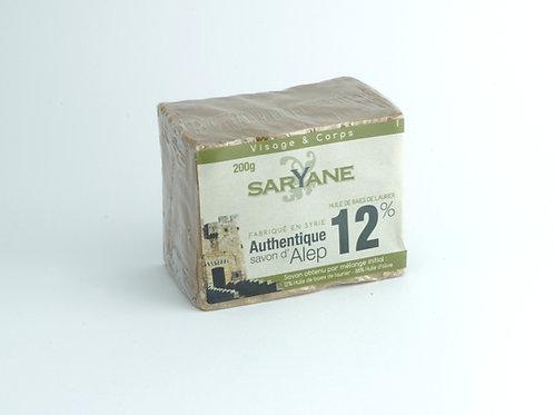 Mydło Alleppo 12% Oleju Laurowego 200 g