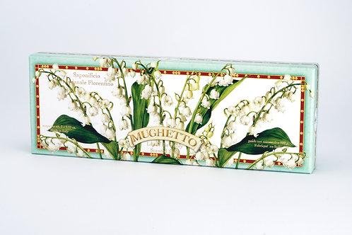 Mydło Florenckie Konwaliowe 3x100g