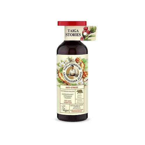 Naturalny balsam do włosów Anti-Stress na bazie naturalnych składników.