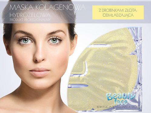 Maska do twarzy przeciwzmarszczkowa, poprawiająca elastyczność, kolagenowa