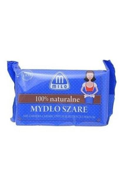Mydło szare 100% naturalne 175 g, MILO