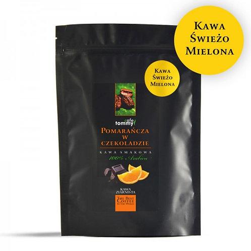 Kawa smakowa Czekolada- Pomarańcza 250g Mielona