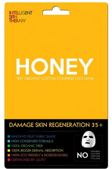Ekspresowa maseczka miód - regeneracja zniszczonej skóry w każdym wieku.