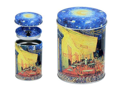 Carmani, puszka - V. Van Gogh. Taras kawiarni nocą