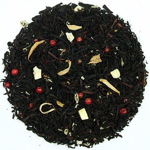 Herbata Czarna Imbirowo - Pomarańczowa