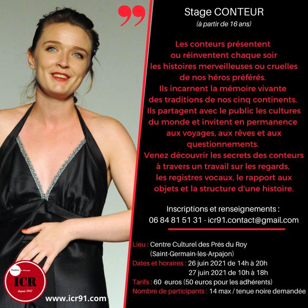 Stage conteur